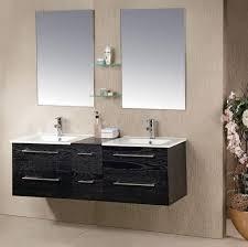 bathroom tan small bathroom with black wood bathroom vanity plus