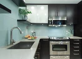 blue tile backsplash kitchen glass tile backsplash for white kitchen blue kitchen cabinets