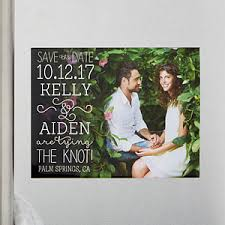 wedding save the date magnets personalized wedding save the date magnets lucky in