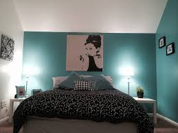 Black Bedroom Ideas by Blue Black And White Bedroom