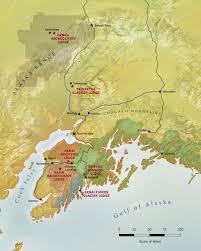 alaska air map map of alaska travel destinations and lands alaska