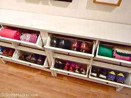 Cabinet Storage Solutions Ikea Cheap Shoe Rack Simple Shoe Rack But Frame And Trim Out Amazing