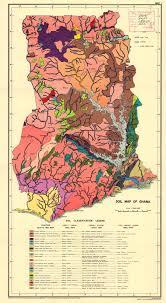 Rowan Map Ghana Soil Map 1971 Map Soils Ghana Interesting Maps