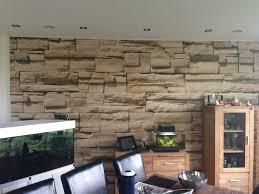 Natursteinwand Wohnzimmer Ideen Steinwand Wohnzimmer Fliesen Home Design