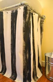 Masculine Shower Curtains Down To Earth Style Painted Pedestal Sink Skirt Shower Curtain