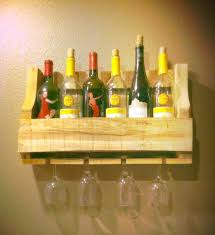 small wine rack made from pallet pallet furniture plans