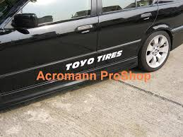 Awesome Condition Toyo White Letter Tires Acromann Online Shop