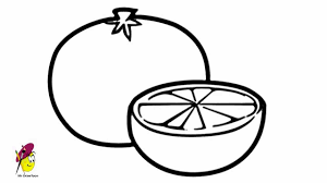 oranges clipart black and white orange how to draw oranges how to draw fruits youtube