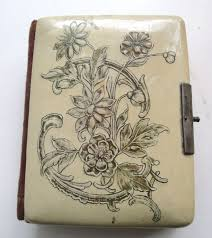 Victorian Photo Album Of Lucite Purses And Celluloid Albums Vintage Junk In My Trunk