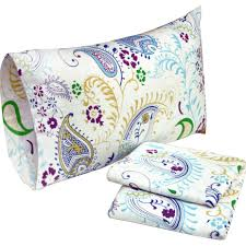 bedroom impressive paisley flannel sheet set with rectangle