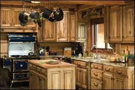 Rustic Painted Kitchen Cabinets by Chic Paint Kitchen Cabinets Rustic Look About 10319 Homedessign Com