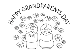 thanksgiving pictures to color and print free free grandparents day cards