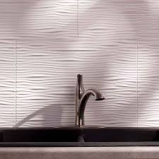 Faucets For Kitchen by Decorating Natural Fasade Backsplash Plus Silver Sink And Modern