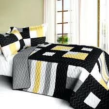 Yellow Grey And White Bedding Yellow And White Quilts U2013 Boltonphoenixtheatre Com