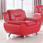 Red Accent Chairs - Red accent chair living room