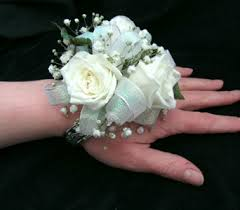 white corsages for prom prom corsages by dodge the florist in portland me