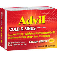 can sinus infection cause dizziness light headed advil cold and sinus side effects warnings and usage