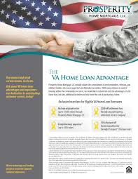 Home Mortgage by Va Home Loan Prosperity Home Mortgage Llc