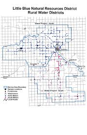 Map Of Counties In Nebraska Rural Water Projects