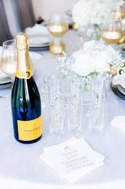new years chagne flutes veuve clicquot and stemless chagne flutes in host a new years