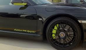porsche 911 turbo s 918 spyder edition car crash porsche 911 turbo s edition 918 spyder fender bender