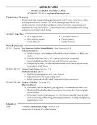 Pizza Delivery Driver Resume Professional Bus Driver Templates To Showcase Your Talent