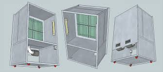 building a photo booth cabinet volpin props spray booth plans
