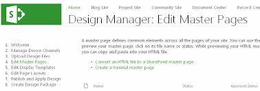 branding sharepoint 2013 creating master pages with html templates