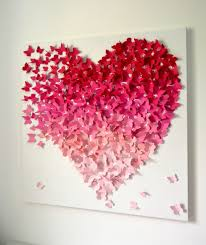 Valentine S Day Wall Decor Diy by Valentines Day Wall Decor Thesouvlakihouse Com