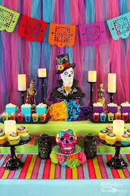 dia de los muertos decorations day of the dead party ideas dia de and party planning