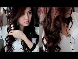 Catokan Rambut Sosis model rambut kriting gantung gaya rambut terbaru wanita