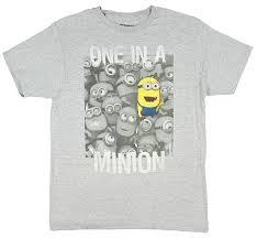 minion halloween shirt despicable me 2 one in a minion t shirt amazon com
