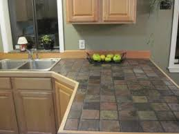 Kitchen Countertop Tile Ideas Brilliant Tile Kitchen Countertops Intended For Really Encourage