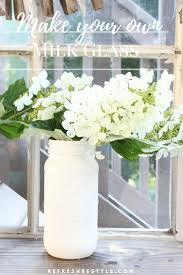 milk glass do it yourself refresh restyle