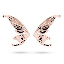 baker earrings ted baker gold plated cobweb fairy wing stud earrings