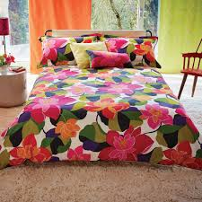 funky bedding multi coloured funky floral bedding scion diva bed