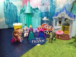 frozen princess anna queen elsa light castle ice palace