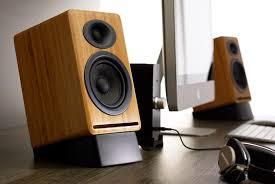 Bookshelf Powered Speakers Audioengine A5 Premium Powered Bookshelf Speakers U0026 D1 Dac W