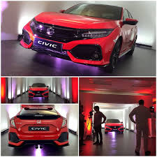 this is the european 2017 honda civic hatchback