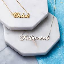 necklace names personalised handmade name necklace personalised jewellery