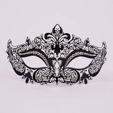 masquerade masks for women black stras metal masquerade mask vivo masks