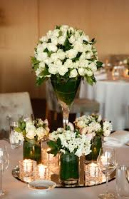 White Roses Centerpieces by Clarnette U0027s Blog The Show Stoppers Of The Wedding Were The Tall