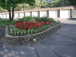 flower beds design wonderful flower beds design and color