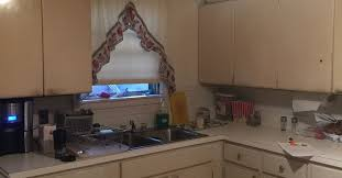 I Have Yucky Metal Kitchen Cabinets Is There A Faux Wood Looking - Faux kitchen cabinets