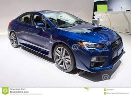 subaru sti 2016 2016 subaru wrx editorial stock photo image 65135203