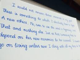 the story of my handwriting u2013 the notebook
