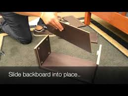easy2go l desk instructions ifit student desk assembly video youtube