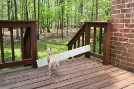 How To Build A Handrail On A Deck Deckgate Literally How To Make A Deck Gate Young House Love