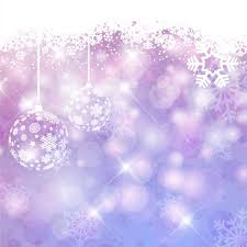 purple shiny christmas background with baubles vector free download