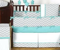 Boy Nursery Bedding Sets Baby Boy Nursery Bedding Modern Unique Modern Gray Turquoise And
